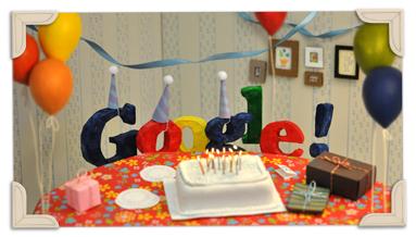 Google's 13th Birthday